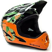 661 SixSixOne Comp Full Face Gravity MTB DH Helmet - (CSPC) - CAMO / ORANGE (CLOSEOUT) _7166-21