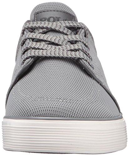 Polo Ralph Lauren Hombres Faxon Low Mesh Fashion Sneaker Grey