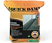 Quick Dam QD65-2 5' Barrier Water Flood Dam Bags, 5ft x 3.5in x 6.5in-2-pack, B