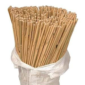 200x 8m Heavy Duty Jardín de bambú bastones fuerte grueso calidad planta apoyo