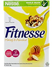 Nestlé Fitnesse Honey and Almond Cereal, 390g