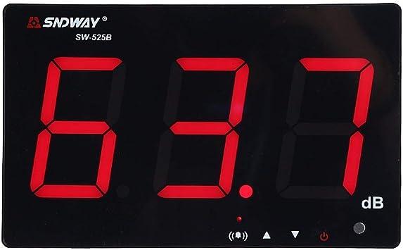 LCD Sound Noise Level Meter Decibel Logger 30-130dB Digital Noise Measurement UK