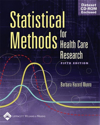 Statistical Methods for Health Care Research by Brand: Lippincott Williams n Wilkins