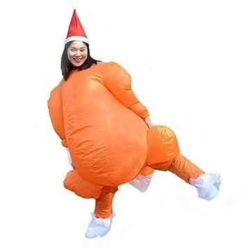 Amazon.com: Disfraz inflable de Acción de Gracias de Keebgyy ...