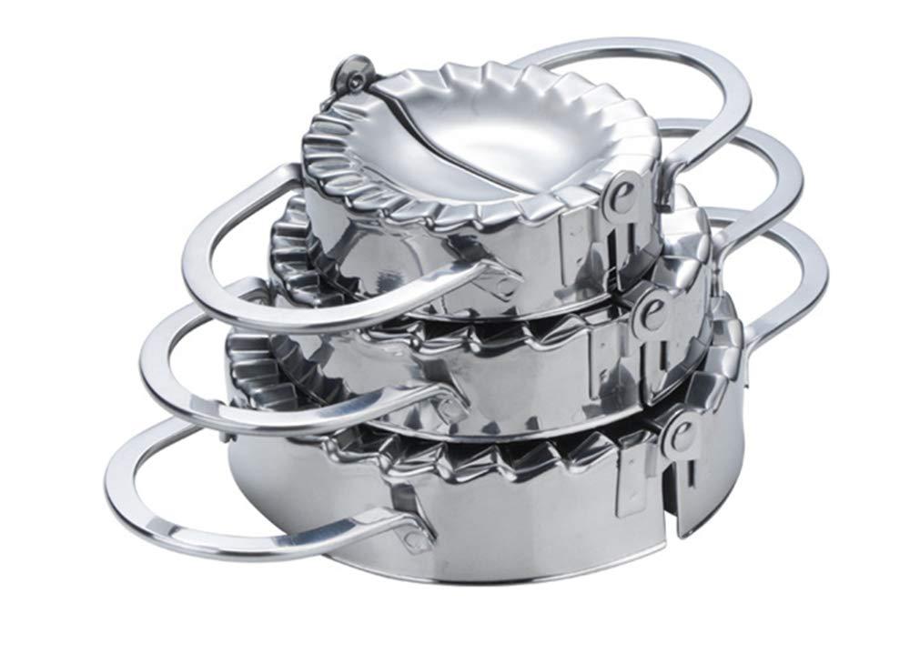 Teig-Presse f/ür Hauptk/üche Kn/ödel-Torte Ravioli LEAMALLS 3er-Pack Edelstahl Kn/ödel-Hersteller Form Hersteller Geb/äck-Werkzeug f/ür das Kochen