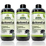 Herbal Secrets Black Seed Oil Natural Dietary Supplement - Cold Pressed Black Cumin Seed Oil from 100% Genuine Nigella Sativa - 16 oz Bottle
