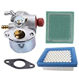 xiscose Carburetor 640025 with Gasket Air Pre Filter for Tecumseh OHH65 OHH55 OHH60 OHH50 OH195EA Carb Snow Blower 640025A 640025B 640025C 640014 640004