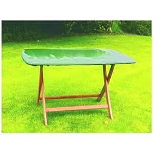 Teca fuerte cubierta para mesa redondos, transpirable cubierta protectora de tejido textil, 150cm de diámetro