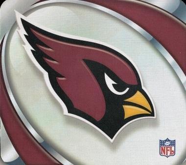 - Arizona Cardinals Mouse Pad - Vortex Design