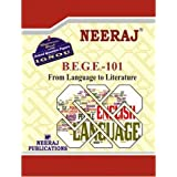 BEGE101-From Language to Literature (IGNOU help book for BEGE-101 in English Medium)