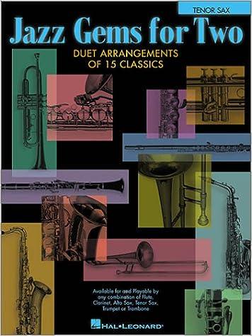 Amazon com: Jazz Gems for Two: Tenor Sax (9780634028144): Books