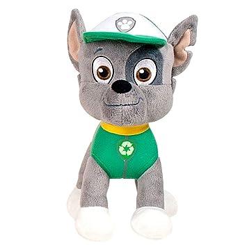 Paw Patrol - Patrulla Canina - Figura de Peluche Rocky Softwool 35cm