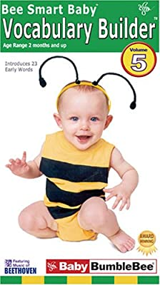 Bee Smart Baby, Vocabulary Builder 5 [VHS]