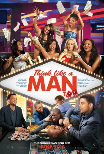 THINK LIKE A MAN TOO - Movie Poster - Double-Sided - 27x40 - Original - ADAM BRODY - KEVIN HART - MICHAEL EALY - REGINA HALL - MEAGAN GOOD
