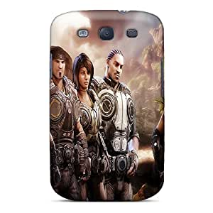 High Quality Shock Absorbing Case For Galaxy S3-gears Of War 3