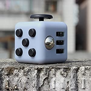 Balai Fidget Cube Toy Anxiety Attention Stress Relief for Children and Adults (Navy) from SUREST