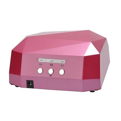 Secador De UñAs LáMpara LED UV Profesional Maquillaje UñAs con Temporizador para UV Gel/Gel