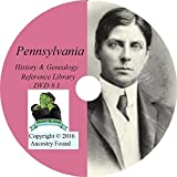PENNSYLVANIA History & Genealogy on DVD - 164 books - Ancestry, Records, Family