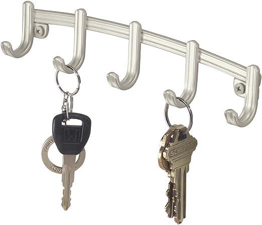 mDesign Colgador de llaves - Organizador de llaves, llaveros ...
