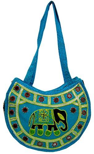 Made Design Ethnic Bag Banjara Boho Indian Tribal Hand 271 Shoulder Elephant UZwx0Z