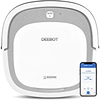 ECOVACS DEEBOT Slim2 Robotic Vacuum Cleaner with Low-profile design/Tangle-free suction/Smart Home/App control/Effectively Collect Hairs
