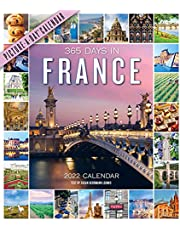365 Days in France Picture-A-Day Wall Calendar 2022: A year of France at a glance