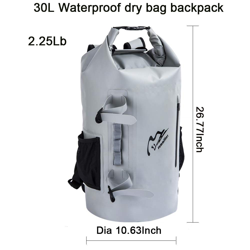 Amazon.com: summitter-waterproof seco bolsa mochila 30L ...