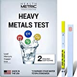 Lead Iron Copper and Mercury - Home Water Test Kit