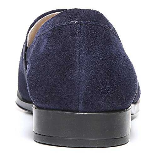 A Través De Spiga Mujeres Amica Slip-on Loafer Navy Suede