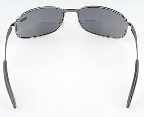 Eyekepper Metallrahmen Fischen Golf Radfahren Fliegen Outdoor Bifokale Sonnenbrille Gunmetal +1.5 u7JpZUkXQS