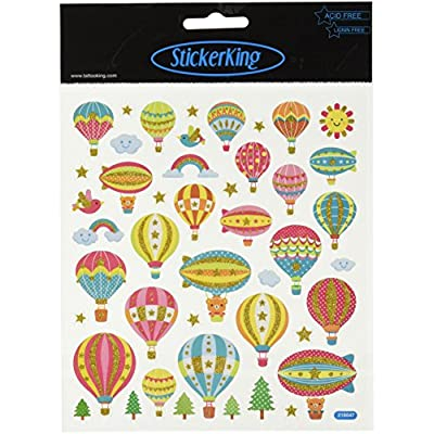 Carson Dellosa Hot Air Balloons Shape Stickers (168064)