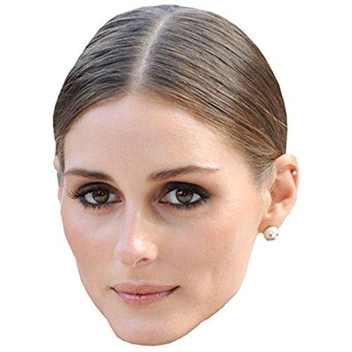 Olivia Palermo Celebrity Mask, Card Face and Fancy Dress - Olivia Palermo