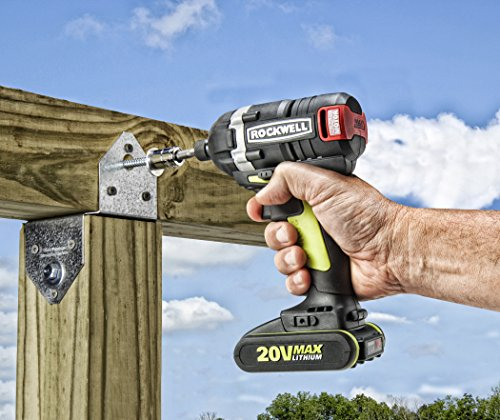 Rockwell RK2860K2 Li-ion Brushless Impact Driver, 20V by Rockwell (Image #1)