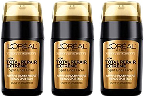 L'Oreal Advanced Haircare Total Repair Extreme Split Ends Fixer Leave-In Treatment 0.50 oz (Pack of 3)