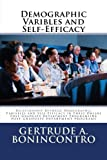 Demographic Varibles and Self-Efficacy, Gertrude Bonincontro, 1482023504