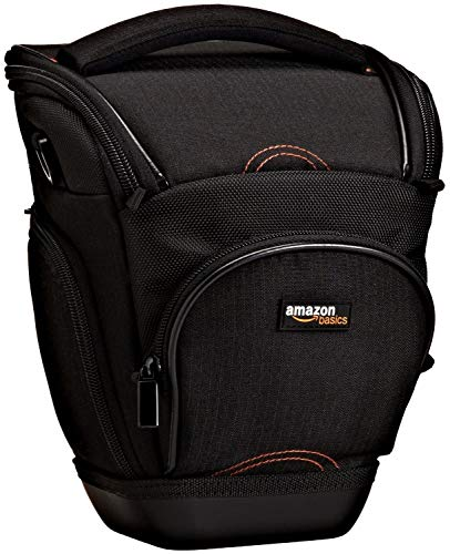 AmazonBasics Holster Camera Case for DSLR Cameras – Black