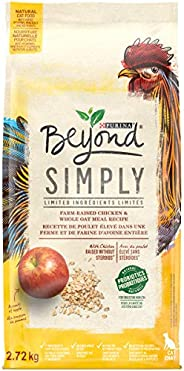 Beyond Simply Natural Dry Cat Food, White Meat Chicken & Whole Oat Meal 2.72 kg
