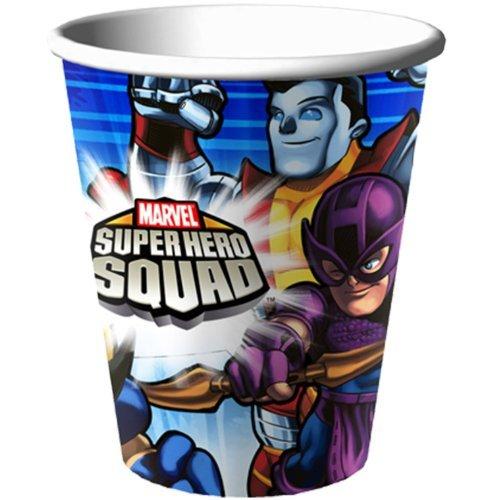 Marvel Super Hero Squad Paper Cups (8ct)