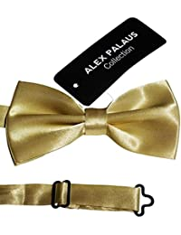 Stylish Designer Bow Ties - Pre Tied, Adjustable Unisex Bowtie for Men, Women, Boys and Girls by Alex Palaus Collection...