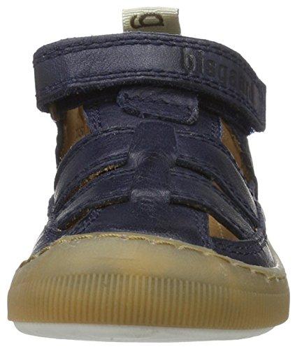 Bisgaard Unisex-Kinder Sandalen Blau (600 Blue)