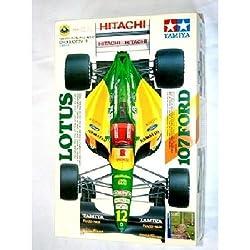 #20037 Tamiya Lotus 107 Ford 1/20 Scale Plastic Model Kit,Needs Assembly by Tamiya