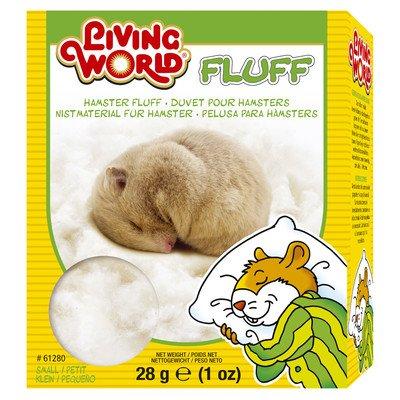 Living World Hamster Fluff Nesting - 1 oz. [Set of 3] by Living World