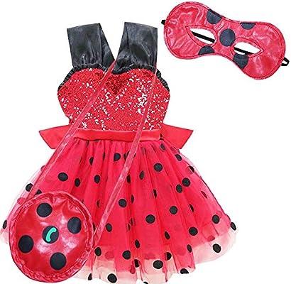 QYS Mariquita milagrosa disfrazarse de Disfraces para niñas niños ...