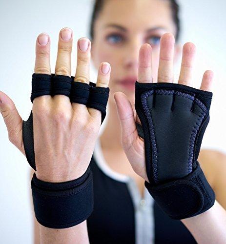 SISYAMA-Padded-Grip-Wrist-Support-Workout-Gloves-Yoga-Pilates-Weight-Lifting-Fitness-WOD-Cross-Training-Crossfit-Gym-Men-Women