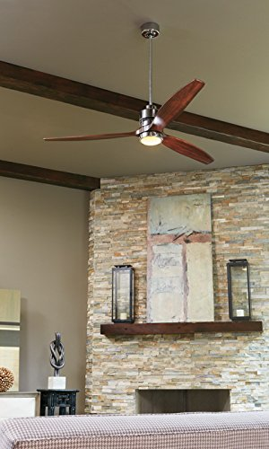 "Craftmade SON52CH-70GW Sonnet Chrome 70"" Ceiling Fan with"