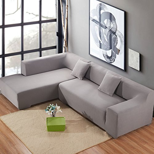 High Elasticity Sofa slipcovers,Quilted Sofa Furniture Protectors for Pets and Kids Thicken Couch Cover Anti-Slip Sectional Sofa Throw pad for All Season-E 4 Seater (92118inch)