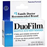 Duofilm Duofilm Wart Remover Liquid, 0.33 oz (Pack of 2)