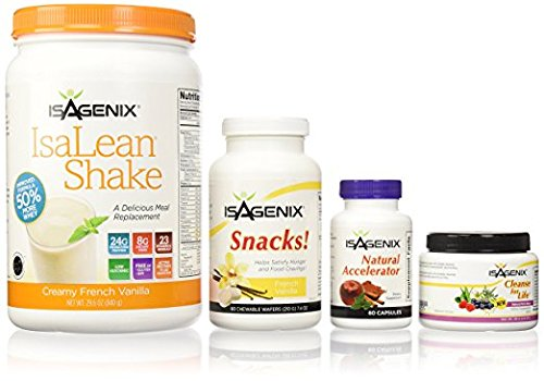 (Isagenix 9 Day Deep Fat Burning and Cleanse System Vanilla Brand New )