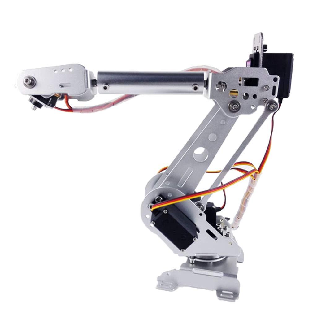 Homyl 6Axis 6Axis 6Axis DIY Kits Robotic Arm, 6 DOF