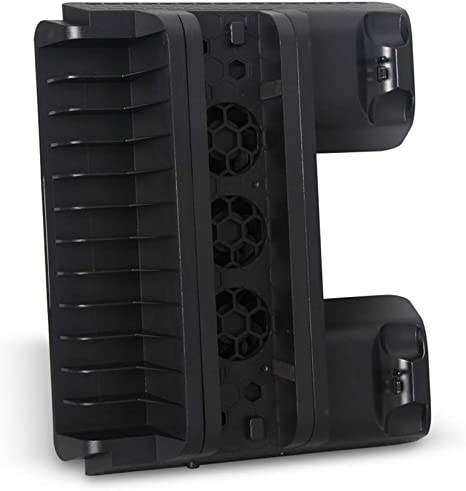Uonlytech 1pc Plataforma de CD-ROM Multifuncional,con turbina de Ventilador,para Playstation 4 Slim Playstation 4 ...